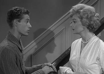 Image result for eddie haskell and mrs cleaver