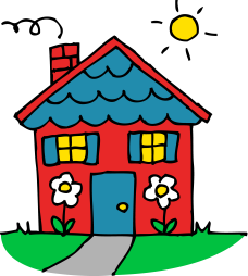 cute-house-clipart-cute_red_and_blue_house.png